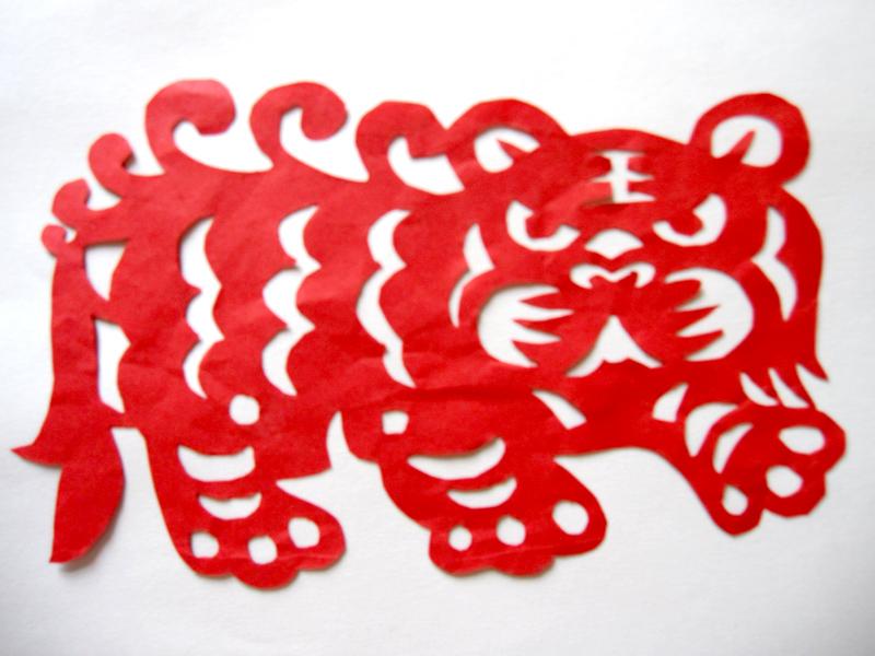 学生剪纸作品-汉川市实验小学
